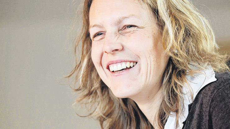 Renate Emch freut sich über  ihre Wahl zur Gemeindepräsidentin.
