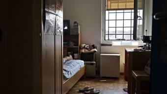Eine Zelle im Haus Lägern.