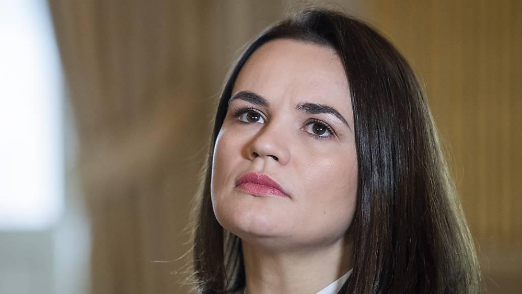 Belarus-Opposition fordert härtere Sanktionen als Unterstützung