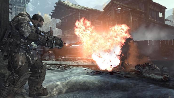 Missionserfüllung: In der virtuellen Welt bringt jeder tödliche Schuss den Spieler seinem Ziel näher. AZ ARCHIV