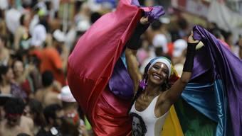 Auftakt zum Karneval in Rio de Janeiro