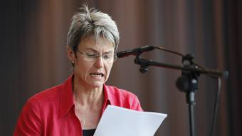 Vreni Meyer, Gemeindepräsidentin und Präsidentin des Schulverbandes.