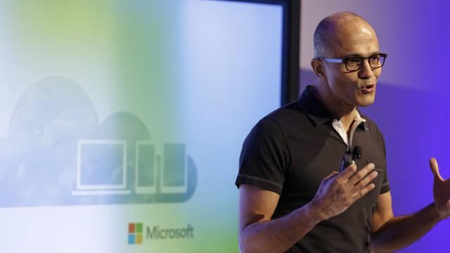 Microsoft-CEO Nadella senkt die Preise für Online-Speicher (Archiv)