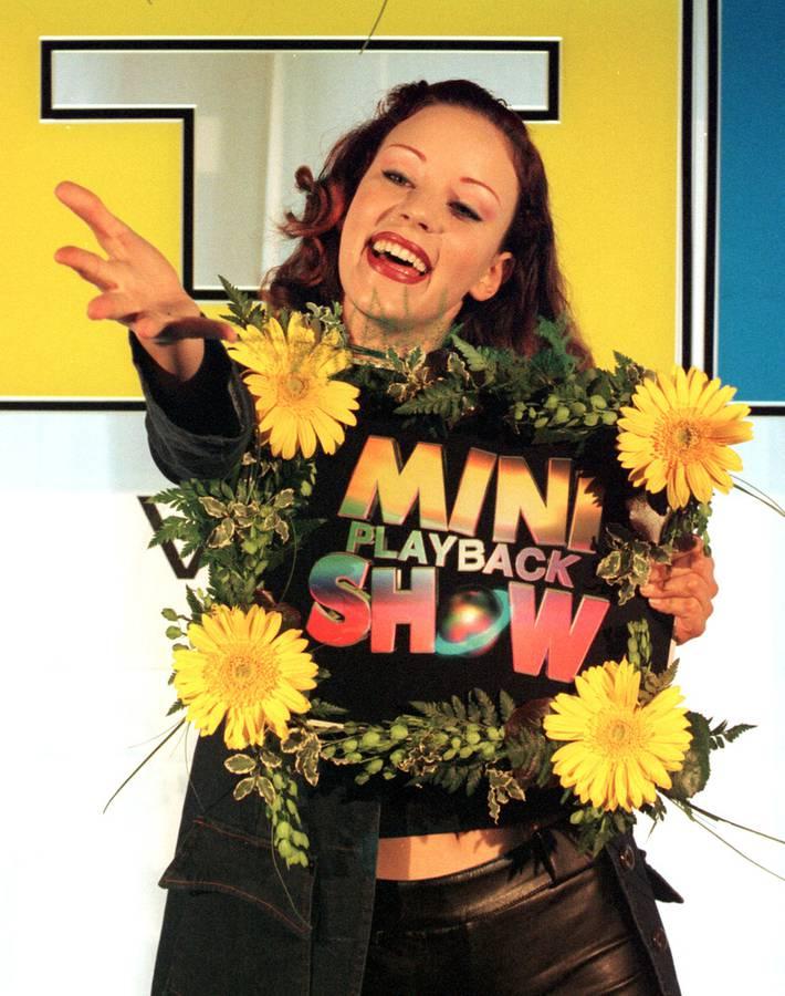 Blümchen wurde bekannt mit ihren Mega-Happy-Hits «Boomerang» und «Herz an Herz». (© Keystone sda)