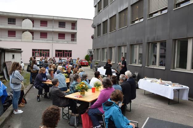 Der Heimgarten weiht das neue Werkatelier an der Altenburgerstrasse 49 in Brugg ein.