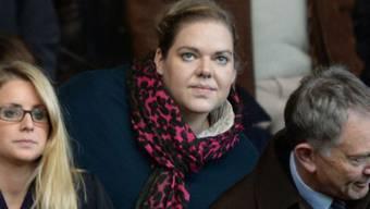 Katharina Liebherr auf der Tribüne in Southampton: Sie wohnte in Niederrohrdorf und Ennetbaden. Foto: Robin Jones/Digital South