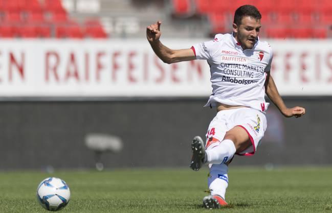 Mindestens bis zum Ende dieser Saison wird Grgic für Sion spielen.
