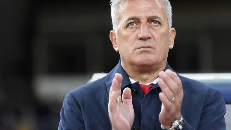 Vladimir Petkovic wird zum Auftakt des UEFA Nations Cup seine Mannen in St. Gallen antreiben