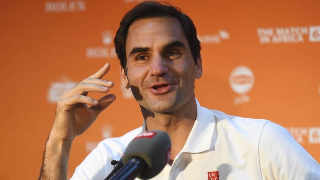 Federer spielt im «Match in Africa» mit Nadal