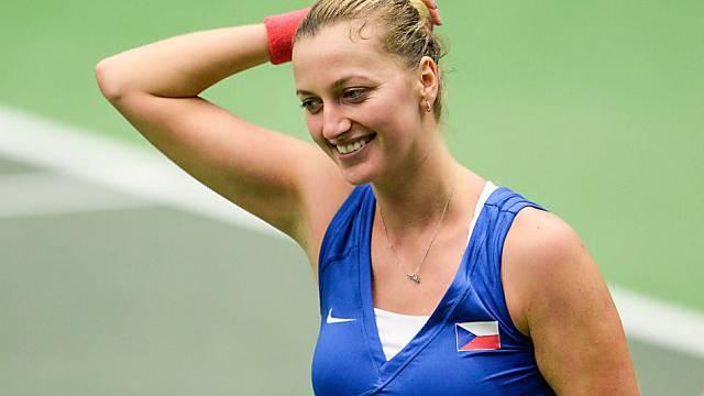 Die Tschechin Petra Kvitova sorgte für die Vorentscheidung
