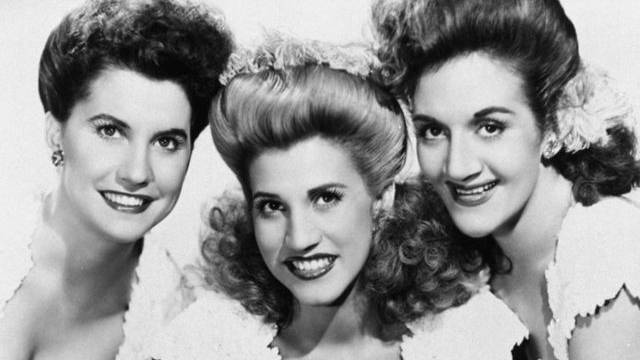 Die Andrews-Sisters: Maxine, Patty und LaVerne (v.l)