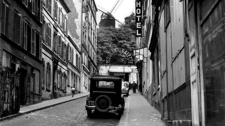 Patrick Modianos Romane funktionieren wie Reiseführer in die Vergangenheit von Paris, etwa zum Montmartre von 1947. Almasy/akg-images