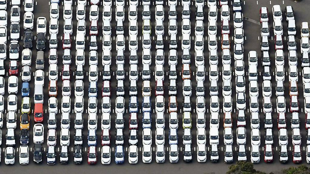 Auto-Verkäufe sinken im August wieder stärker