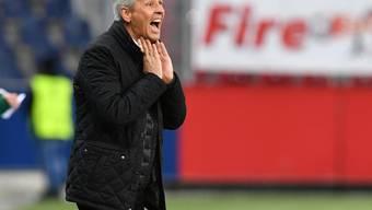 Lucien Favre schrie für einmal vergeblich: Nice verliert in Caen