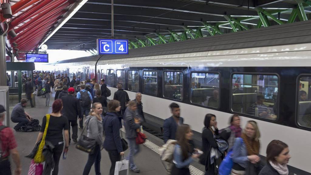 Eine Krähe hat im Bahnhof Winterthur einen Stromausfall ausgelöst. (Archiv)
