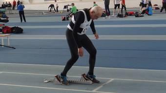 Der 95-jährige britisch-schweizerische Doppelbürger Charles Eugster brach über 200 Meter den Weltrekord seiner Altersklasse