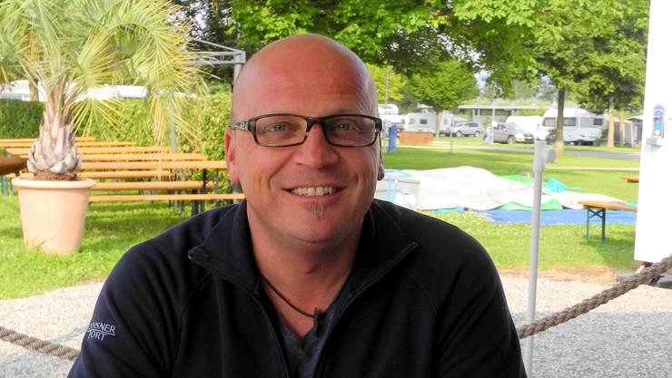 Jürg Moor ist seit Oktober der Manager des TCS Campingplatzes in Solothurn.