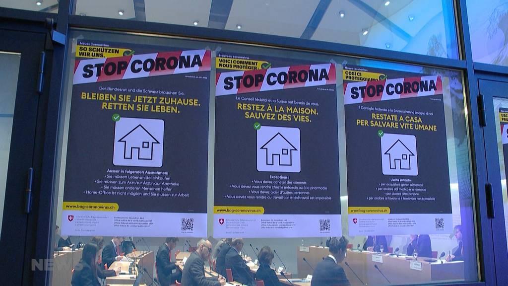 Versammlungsverbot: Bundesrat verschärft Corona-Massnahmen