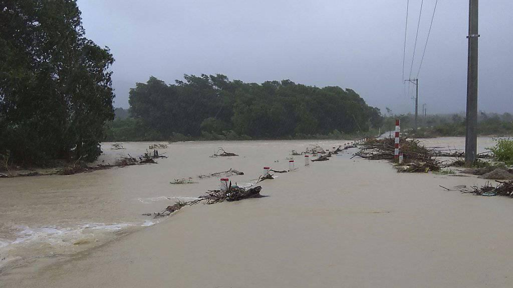 Durch Taifun «Damrey» sind mindestens 27 Menschen in Vietnam ums Leben gekommen.