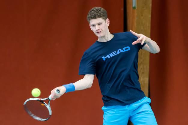 In der Qualifikation werden mindestens vier Aargauer Spieler mit dabei sein – darunter auch Patrik Hartmeier.