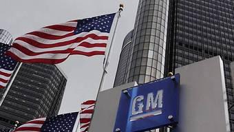 Blick auf Hauptquartier von General Motors in Detroit (Archiv)