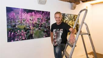 Hanspeter Bärtschi stellt zum ersten Mal seine Foto-Arbeiten mit der Lochkamera aus.