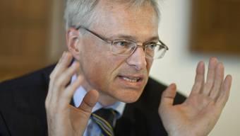 Unterlegen: Ständerat und Unternehmer Thomas Minder (Archiv)
