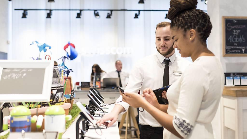Swisscom erhöht die Löhne für 2021 um 0,8 Prozent