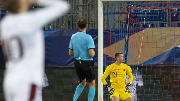 Anthony Racioppi stand Anfang Woche für die Schweizer U21 im Einsatz