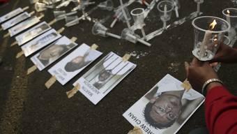 Protest gegen Hinrichtung in Indonesien