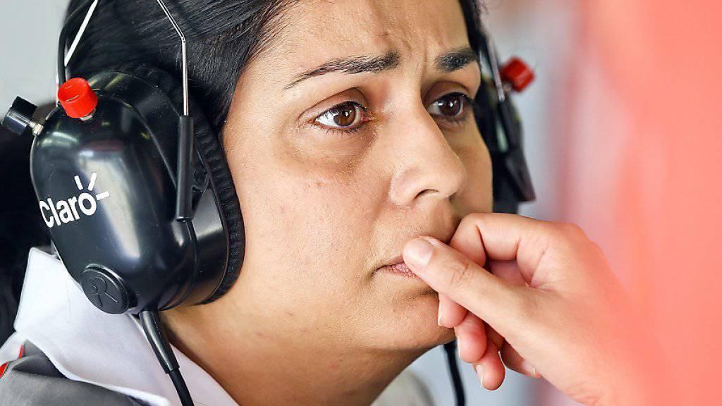 Muss die angespannte finanzielle Lage bei Sauber lösen: Teamchefin Monisha Kaltenborn