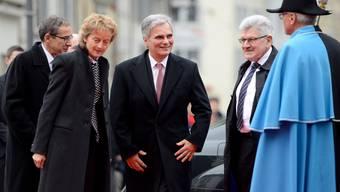 Staatsbesuch von Österreichs Bundeskanzler Werner Faymann