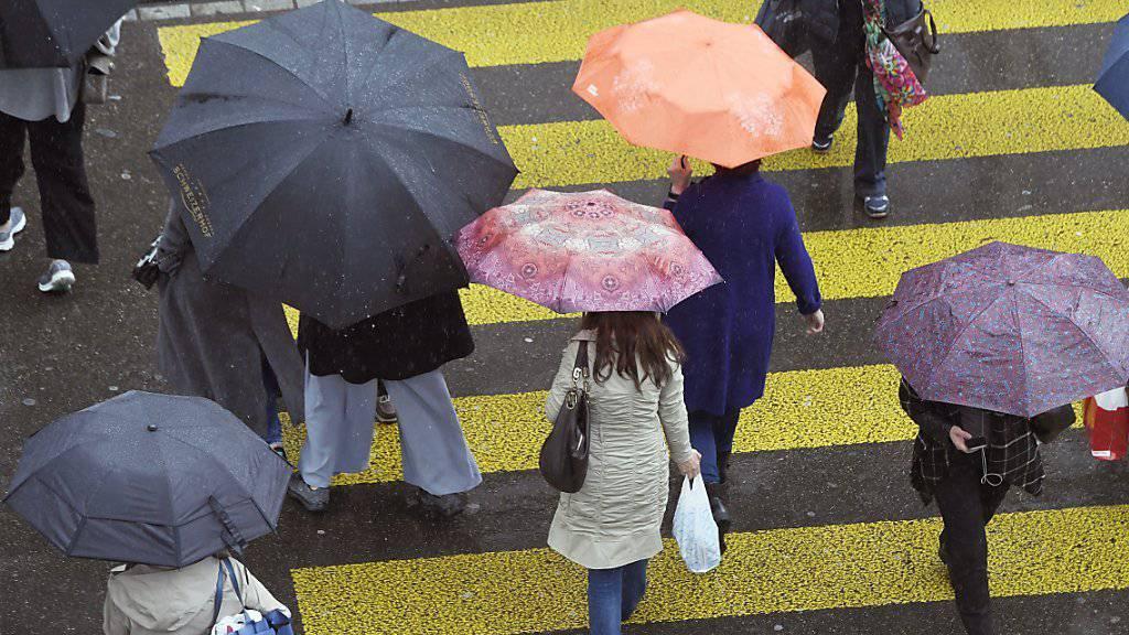 Das Jahr 2016 hat der Schweiz bisher viel Regen gebracht. (Archivlbild)