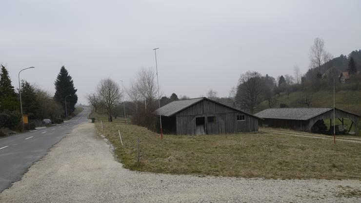 Dort, wo heute die alte Sägerei steht, möchte die Firma Hugi einen Neubau realisieren.