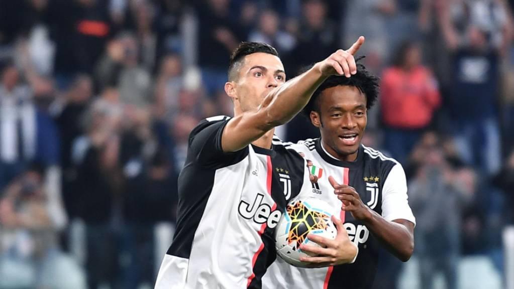 Cristiano Ronaldo schoss Juventus Turin zum knappen Heimsieg gegen Aufsteiger Hellas Verona