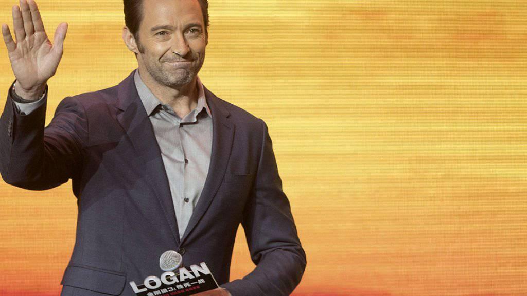 Hugh Jackman erhielt am Wochenende in den Schweizer Kinos als Superheld der Comicverfilmung «Logan» grossen Zuspruch. (Archiv)