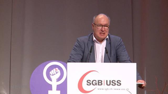 Pierre-Yves Maillard wird neuer Gewerkschaftspräsident