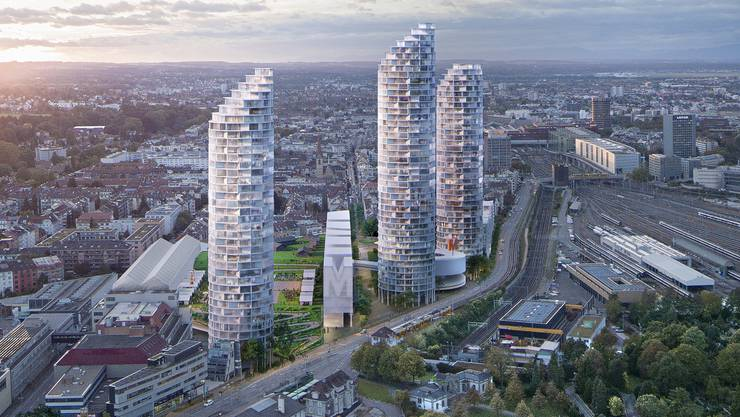 Die Entwicklung des Dreispitz als neues städtisches Quartier Basels nimmt konkrete Formen an.