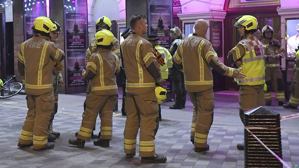 Mehrere Verletzte nach Deckeneinsturz in Londoner Theater