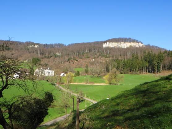 Bad Schauenburg (links)  Schauenburgerfluh (rechts)