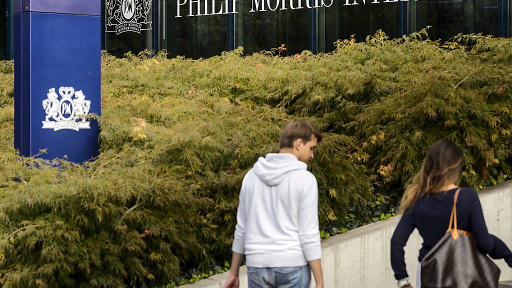 Philip Morris plant Umstrukturierungen in der Schweiz