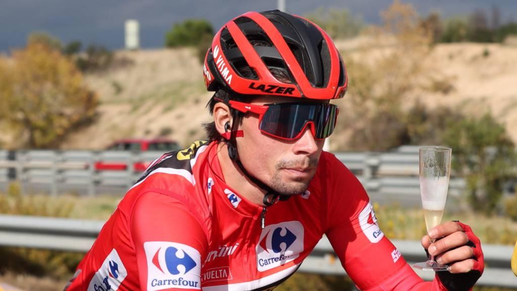 Vuelta-Sieger Primoz Roglic hat ein ausserordentlich starkes Jahr hinter sich