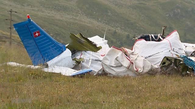 Engadin: Absturz wegen Pilotenfehler?