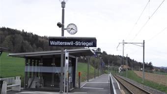 Der Bahnhof, von welchem die Walterswiler bisher mit den Tageskarten abfuhren.