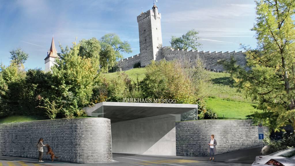 Stadt Luzern soll auf Parkhaus Musegg verzichten