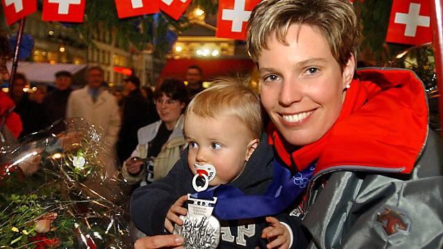 Nadia Röthlisberger-Raspe (im Bild mit Sohn Jari)