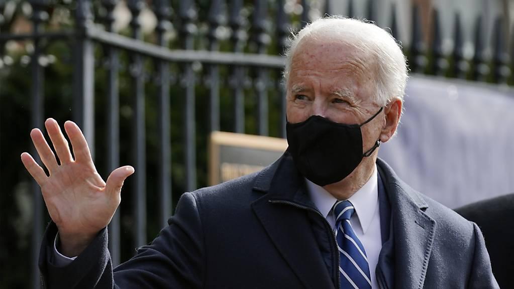 dpatopbilder - Der Präsident der USA, Joe Biden, hat den von seinem Vorgänger beschlossenen Transgender-Ausschluss aus US-Streitkräften gekippt. Foto: Patrick Semansky/AP/dpa