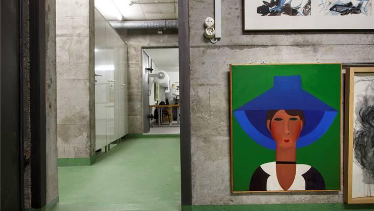 Die Kunstwerke sind auf sechs Räume verteilt.