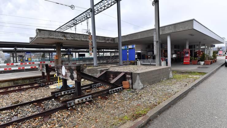 Seit längerem ist der Bahnhof Däniken im Umbau. Nun gehen die Arbeiten in die letzte Phase.