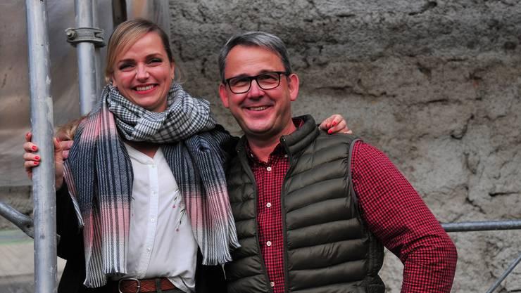 Tina Haagen und Stefan Frankenstein freuen sich auf ihre neue Aufgabe.
